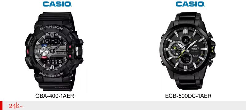 Часы Casio с Bluetooth