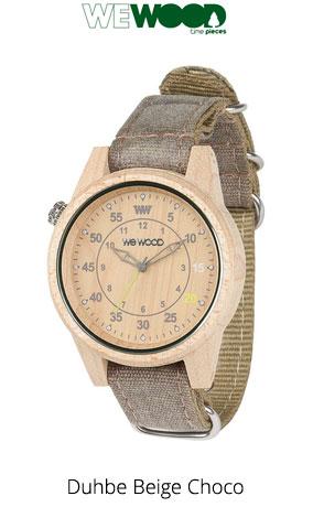 Часы WeWood Duhbe Beige Choco
