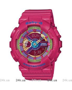 Красные часы Casio BA-112-4AER