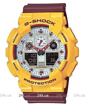 Часы G-Shock GA-100CS-9AER