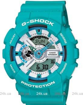 Часы GA-110SN-3AER