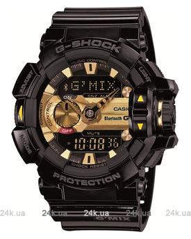Мужские черные часы Casio GBA-400-1A9ER