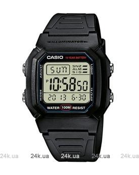 Недорогие часы Casio W-800H-1AVEF