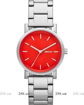Красные часы DKNY NY2182