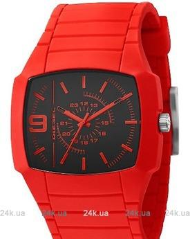 Красные часы Armani DZ1351