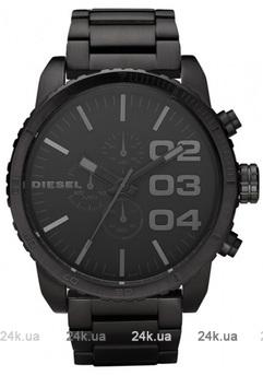 Мужские черные часы DieselDZ4207