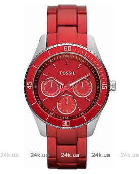 Красные часы Fossil ES3034