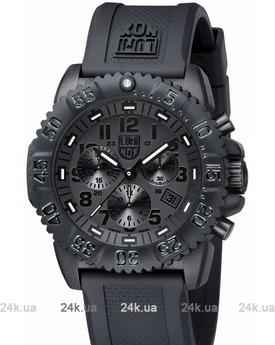 Мужские черные часы Luminox 3081-Blackout