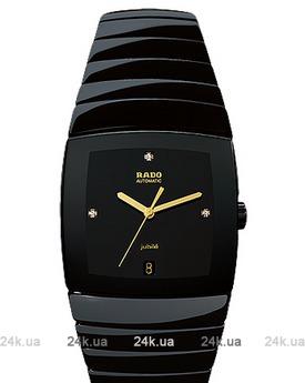 Женские черные часы Rado 629.0663.3.072