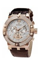 4490.2.503 white, pvd-r stones, brown leather
