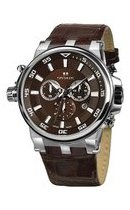 4510.5.503D brown, ss, brown leather