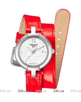 Красные часы Tissot T084.210.16.117.00